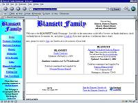 Blansett Family Genealogy Website